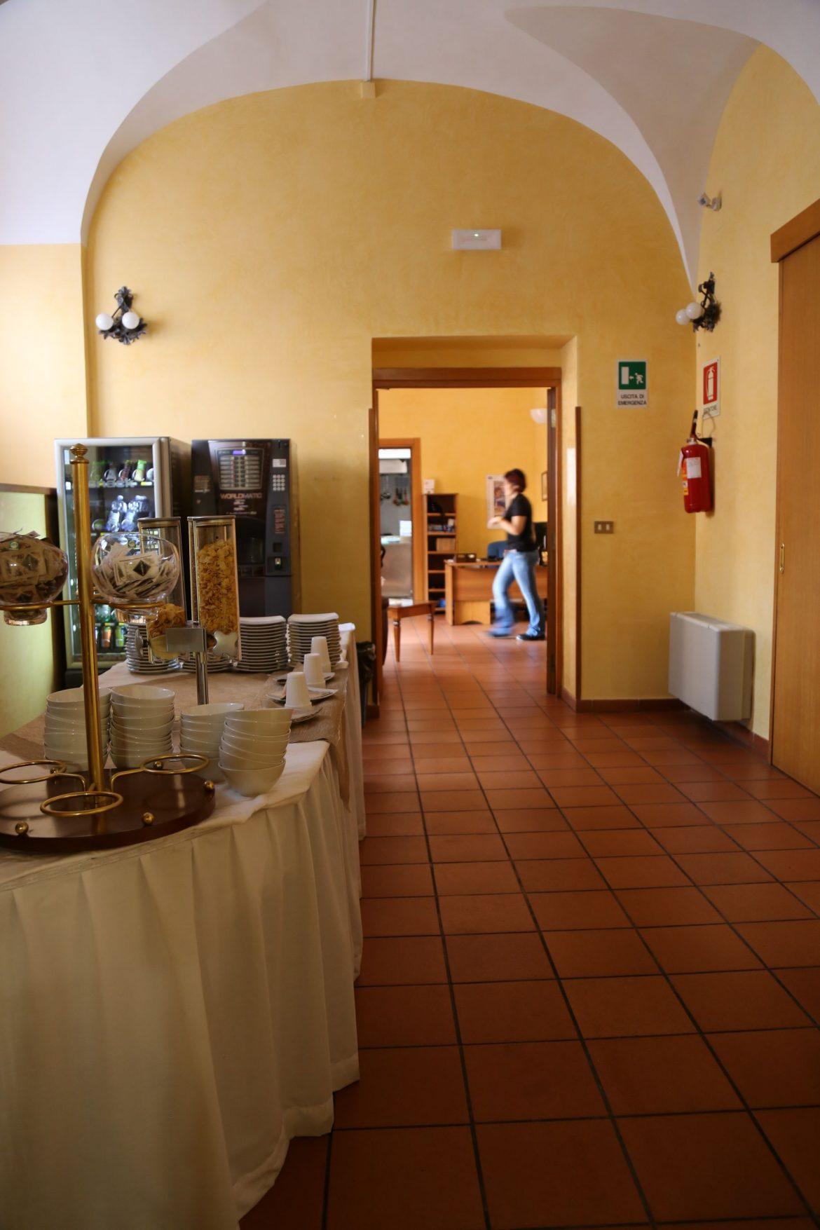 La Casa per ferie san Giuseppe - Sala colazioni
