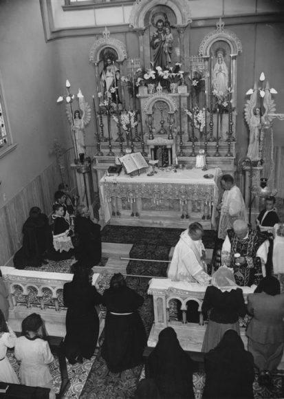 Cappella a Buenos Aires  (23 novembre 1948)