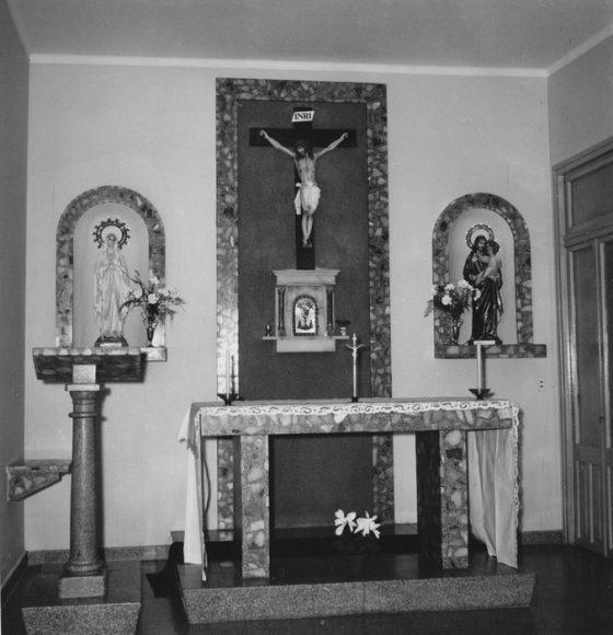 Cappella a Mendoza   (1 Settembre 1965)