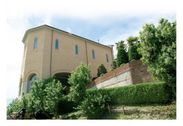 Scorcio della cappella della Casa madre al castello di Rivalba