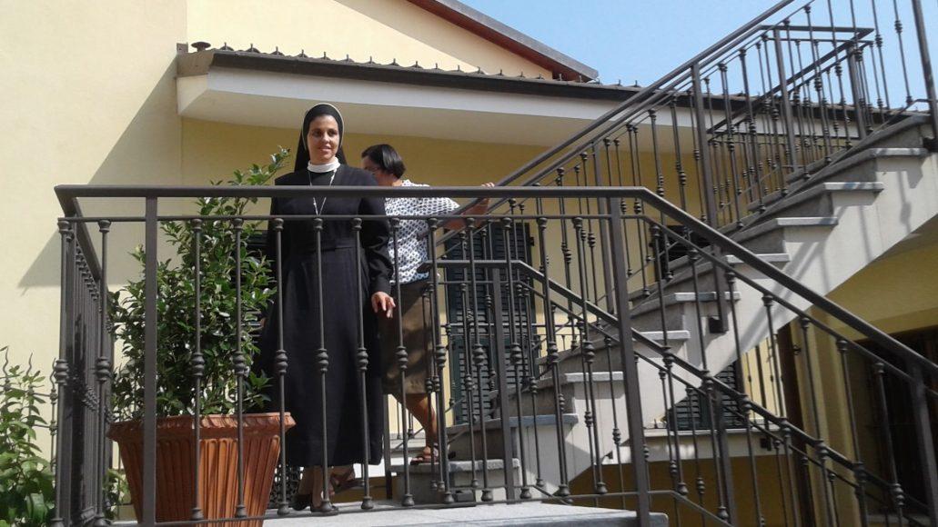 L' AMORE AL CENTRO: suor Claudia