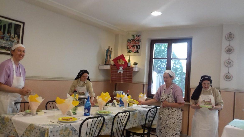 Giugno 2019: Esercizi spirituali a Rivalba II TURNO - pranzo