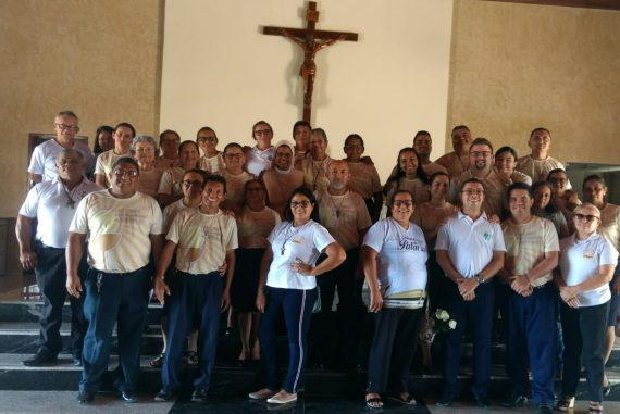 Agosto 2019 Fortaleza: incontro dei ministri straordinari per l'eucaristia