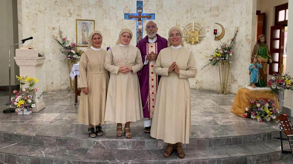Mérida, in Messico, suor Norma, suor Euzanira e suor Monayris